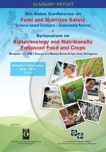 2009 Food and Nutrition Safety