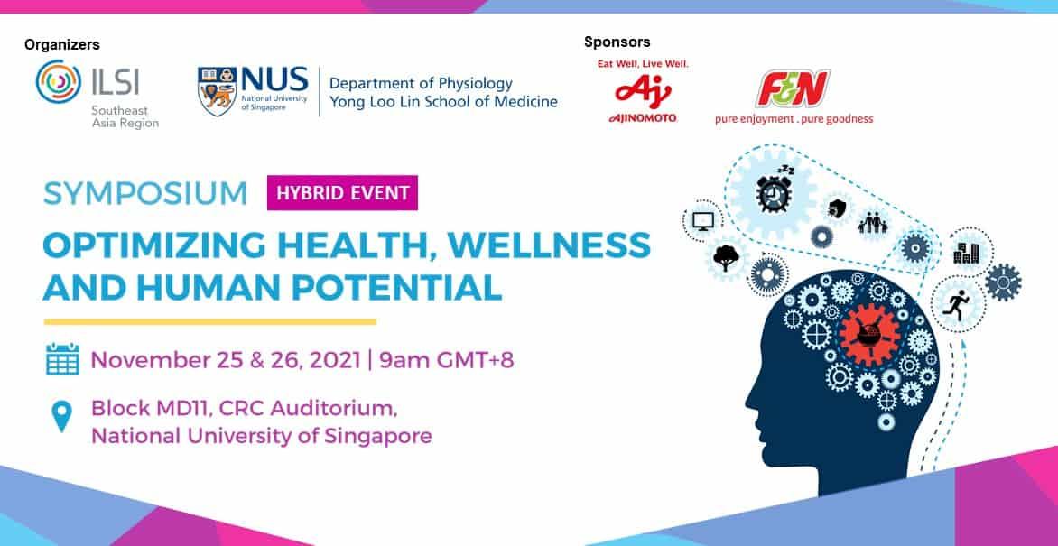 Big Banner - Symposium on Optimizing Health, Wellness and Human Potential
